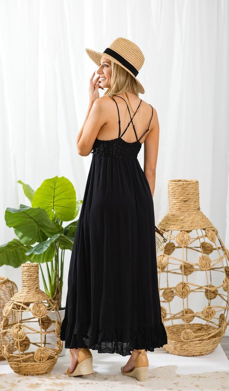 Having A Moment Dress, Black