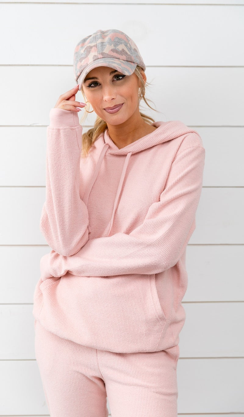 Moon Daisy Comfort Hoodie, Pink, Blue or Grey