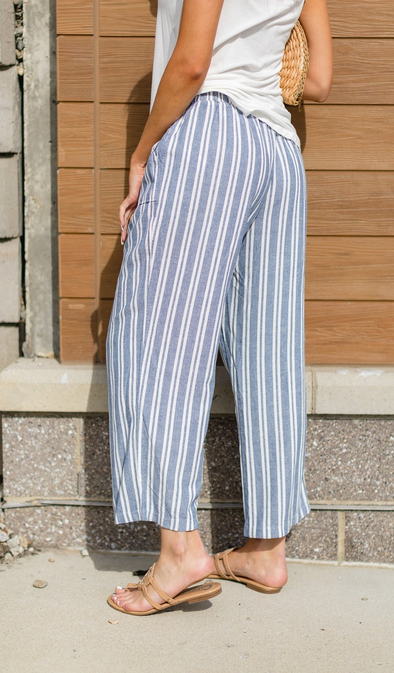 The Ginger Beach Pant, Blue