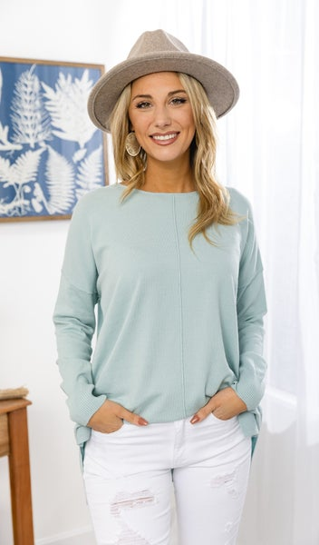 The Seafoam Sweater