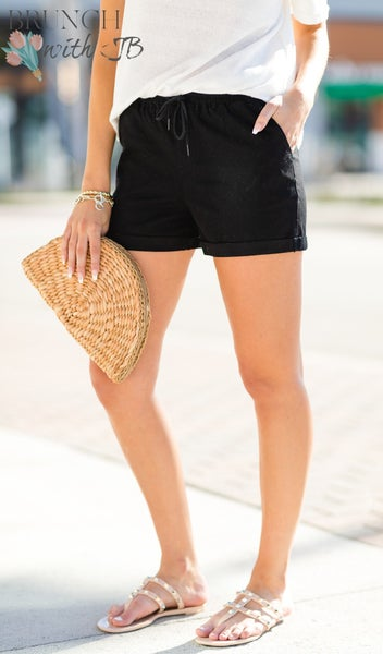 Days of Fun Shorts, Black