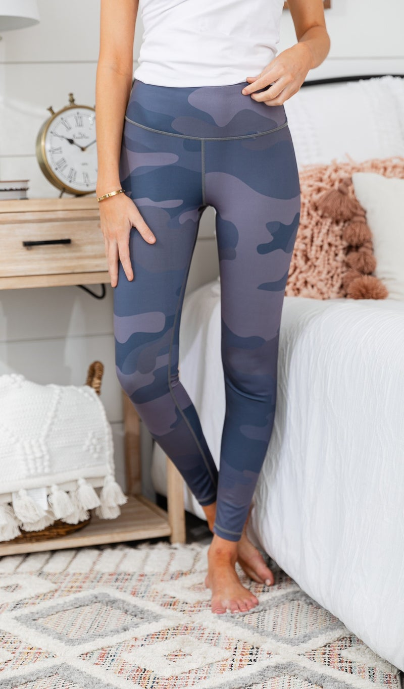 Off The Grid Leggings,  Grey Camo