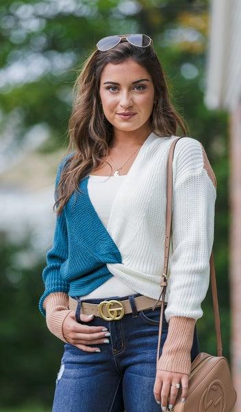 The Brielle Sweater, Multi