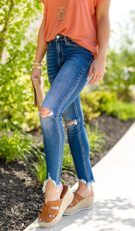 The Dani Skinny Jean, Medium Wash