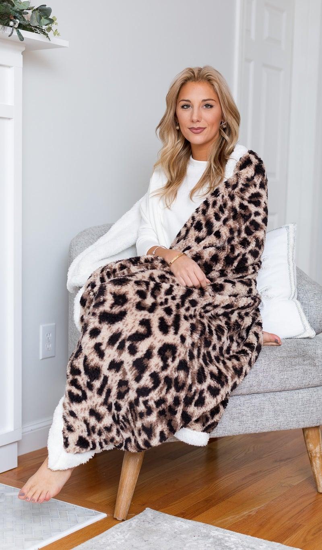Warm Comfort Blanket, Print