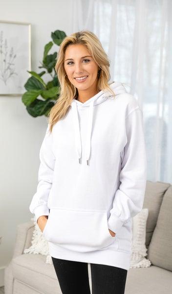 Decision Made Sweatshirt, White