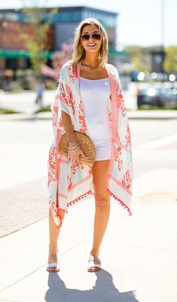 The Anguilla Kimono, Coral