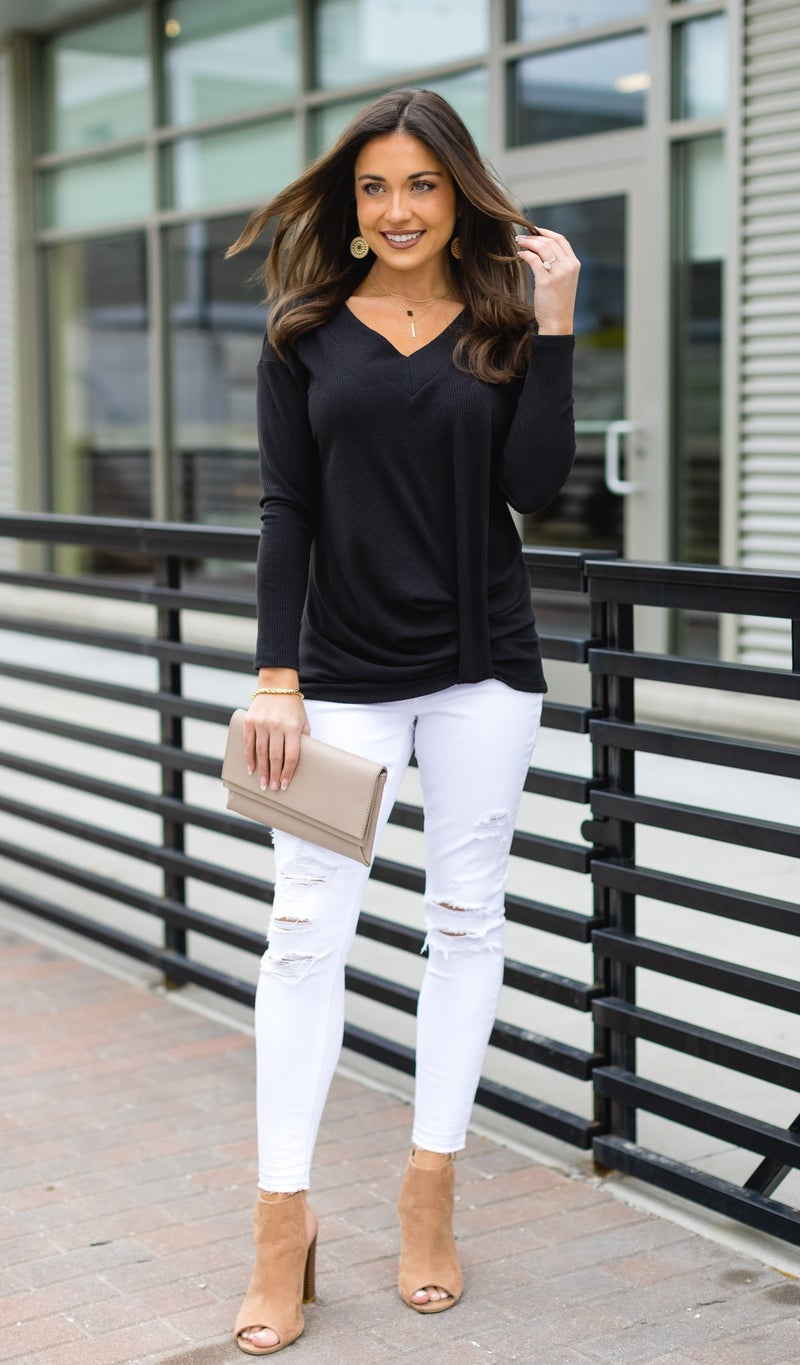 The Sammi Top, Black