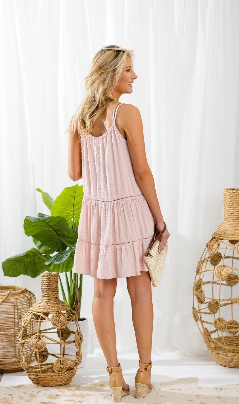 Southern Afternoon Dress, Blush