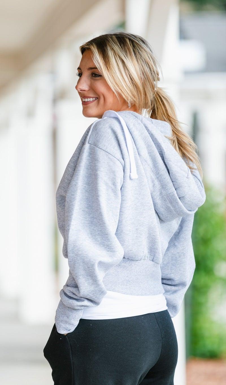 Comfort Zone Zip-Up, Grey or Black