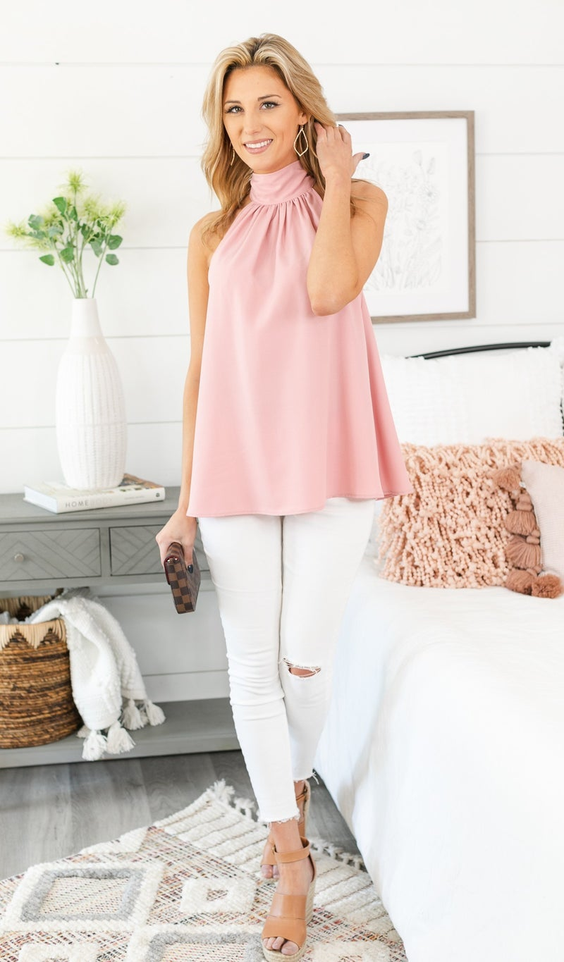 Keeping It Chic Top, Pink