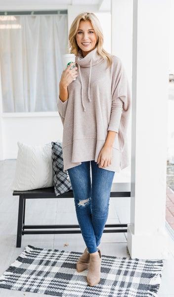 The Aviana Sweater, Oatmeal