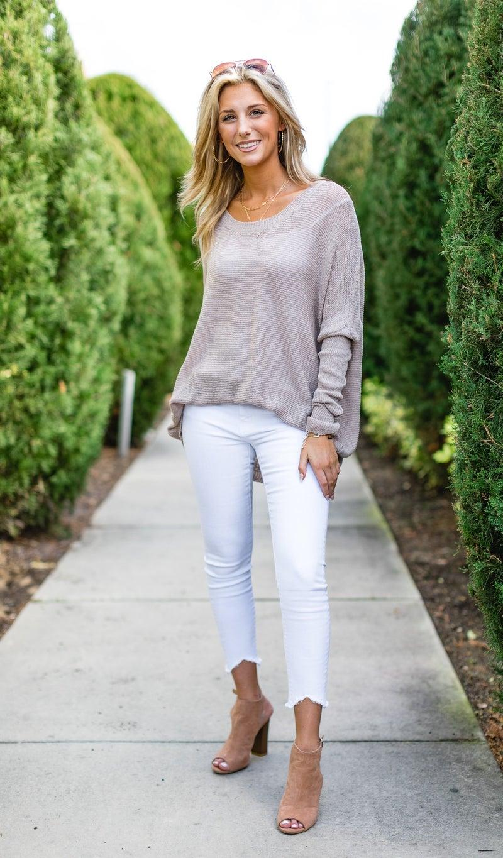 Simply the Best Lightweight Sweater, Mocha