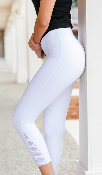 Active with You Legging, White or Black