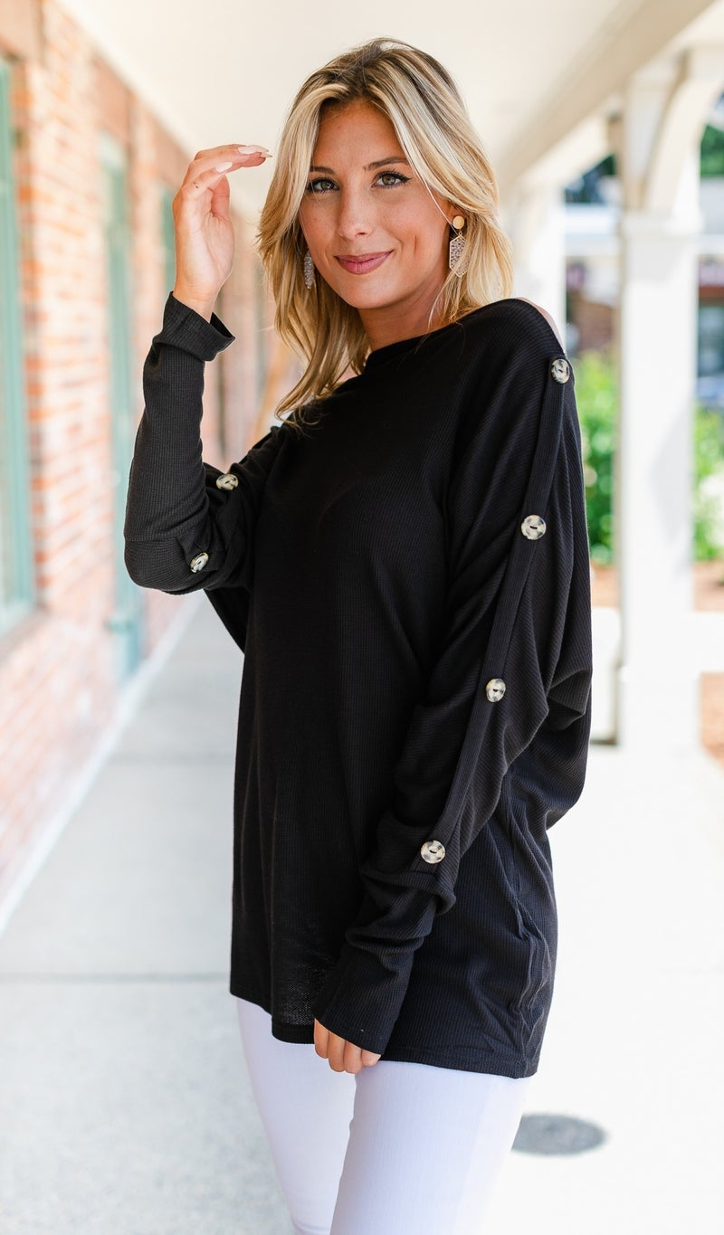 Top Pick Knit Tunics, Black, Grey or Teal