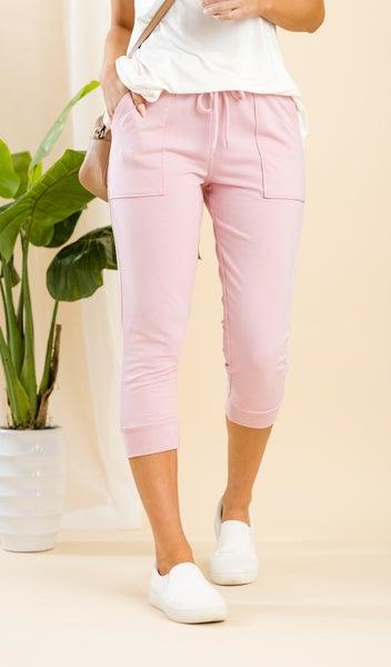 The Cassidy Capri Jogger, Pink