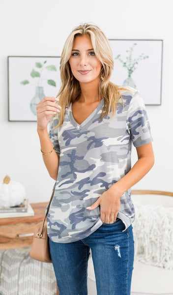 Everyday basic Tee, Camo
