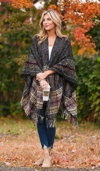 Fall Walk Shawl, Multi
