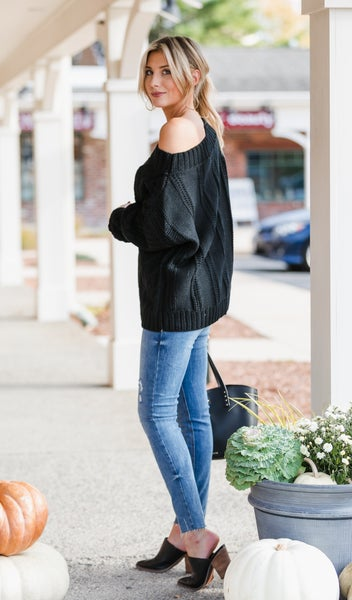All You Need Sweater, Black
