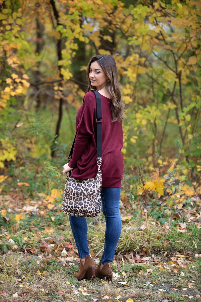 The Best Cross Body Bag, Leopard Print