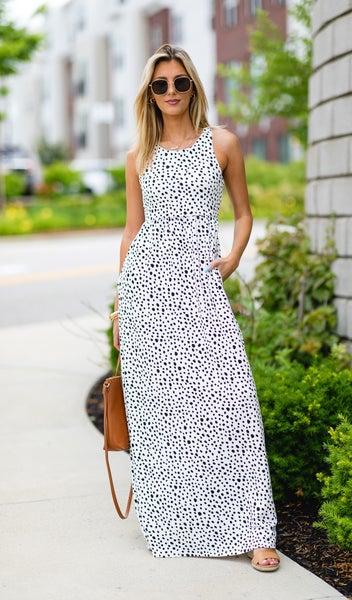 Trendy & Classic Maxi Dress