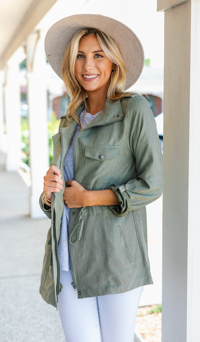 Let The Good Times Roll Jacket, Olive