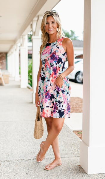 Times Like These Dress, Floral
