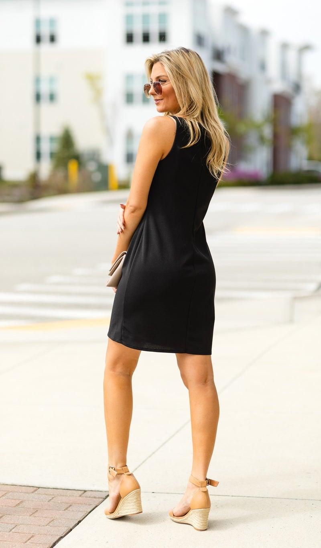 The Hepburn Dress, Black