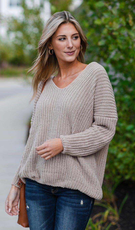 Set In Stone Sweater, Mocha