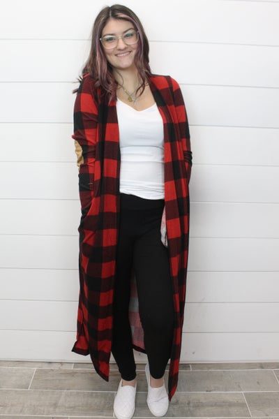 Adore That Buffalo Plaid Cardi