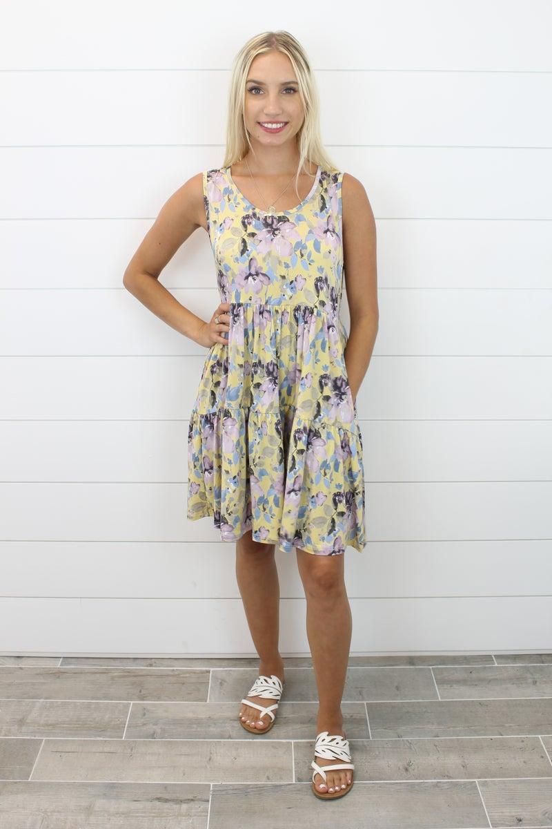 Color Me Floral Dress