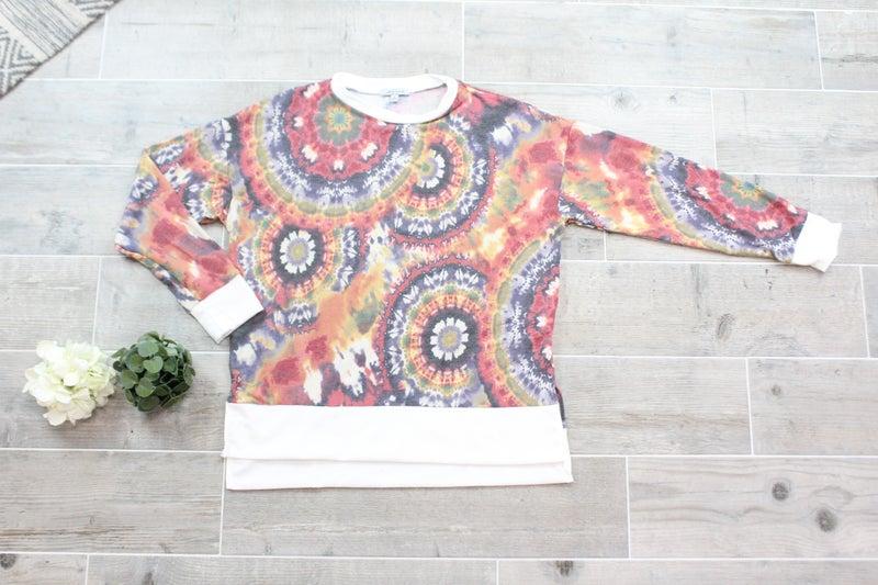 A Mandala Tie Dye Top