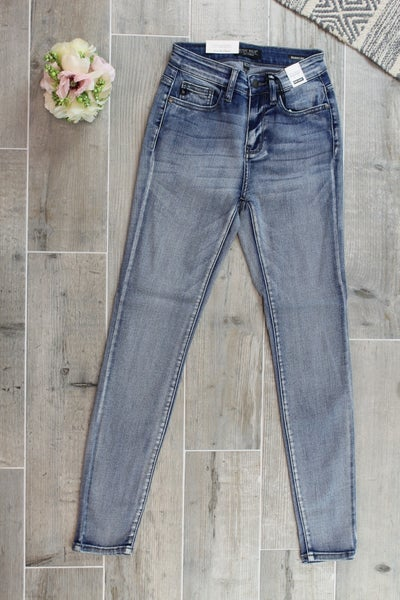 High Rise Skinny Judy Blue Jeans