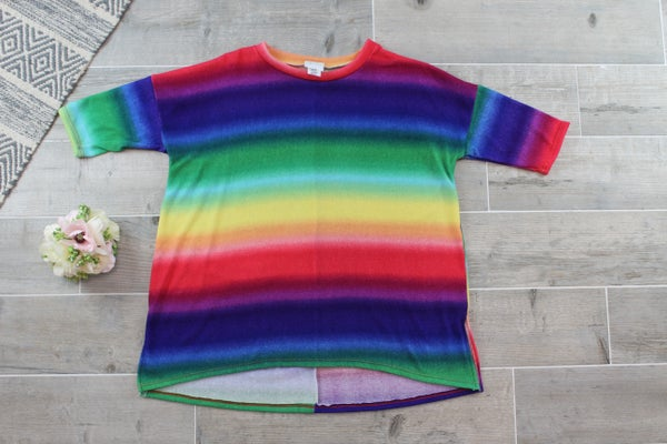 The Rainbow Bright Top