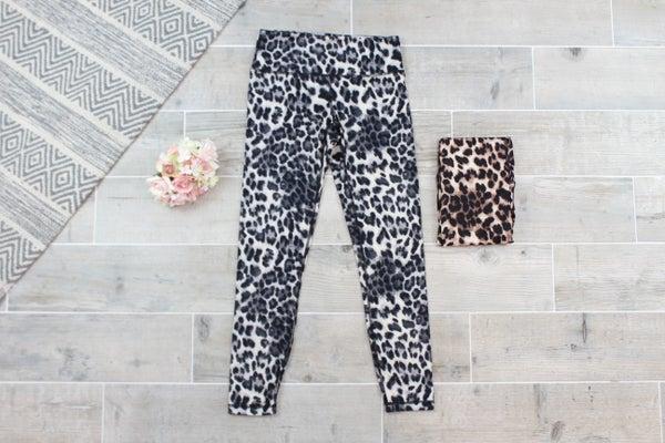 Cheetah Print Work Out Leggings