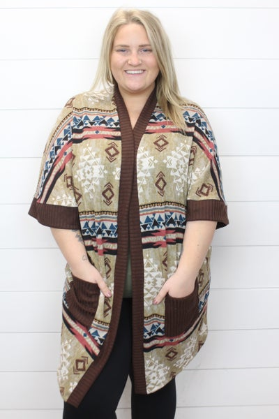 All About Aztec Cardi