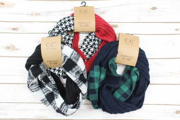 Beautiful Infinity Scarves