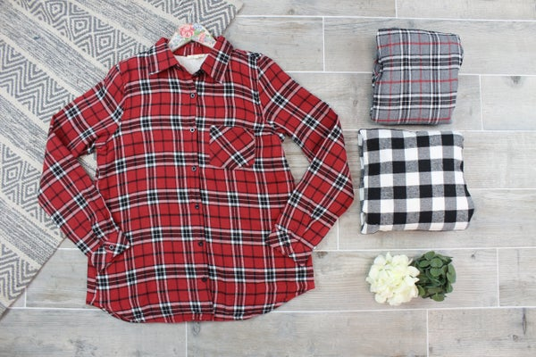 FALLing For You Flannel