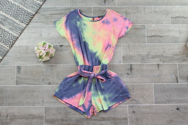 To Tie Dye For Romper