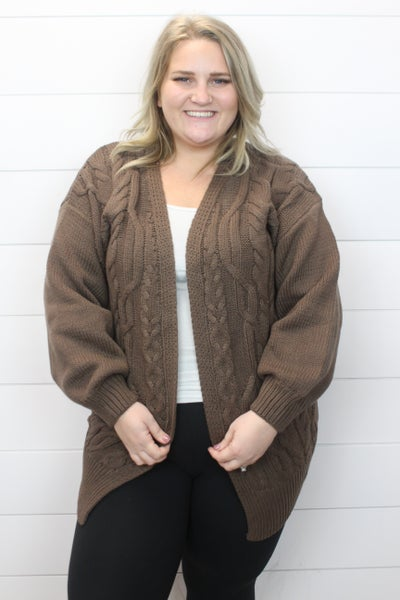 Hot Chocolate Cardi