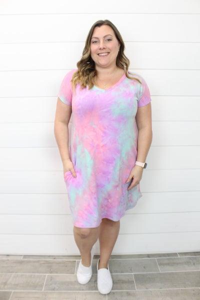 Tie Dye & Fun Dress