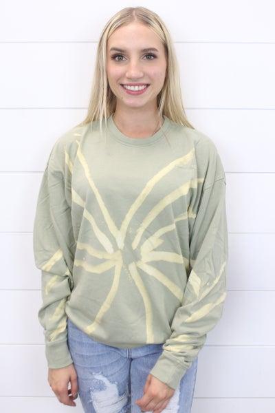 The Circle Of Life Tie Dye Sweatshirt