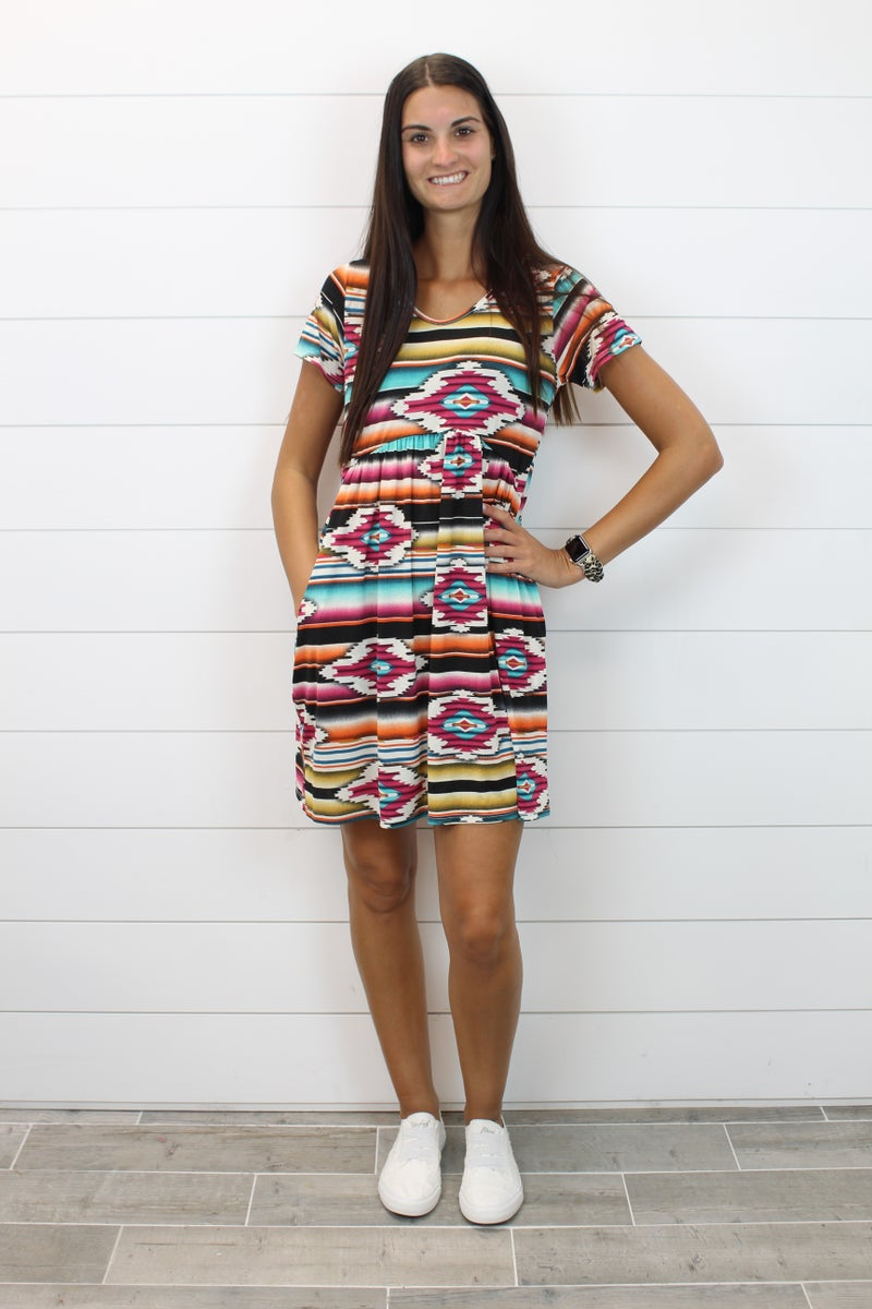Ain't Nothing Like An Aztec Dress