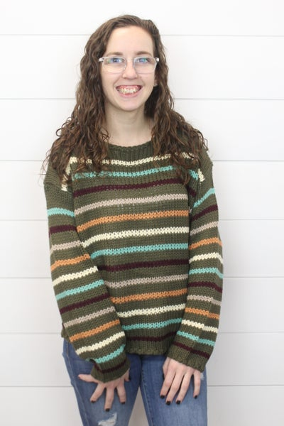 All The Stripes Sweater