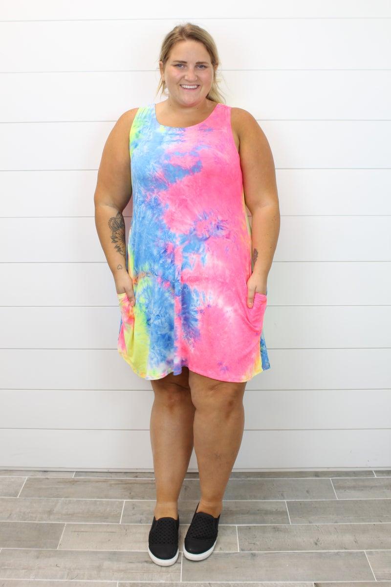 Taking On Tie Dye Dress
