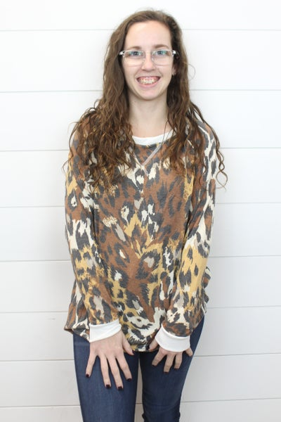 In The Jungle Long Sleeve Top