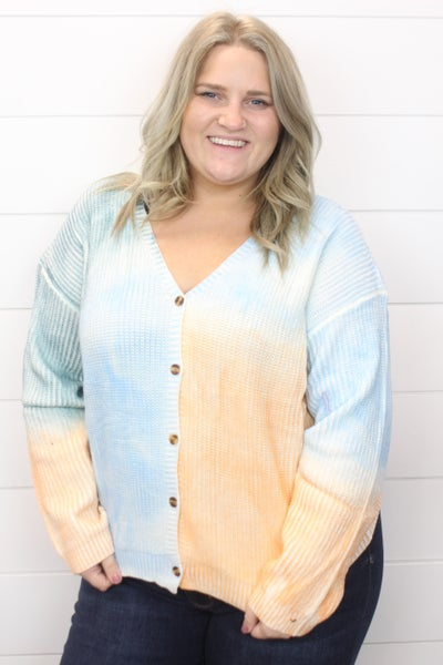 Tie Dye Dreams Cardigan