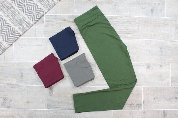 Solid Colored Leggings