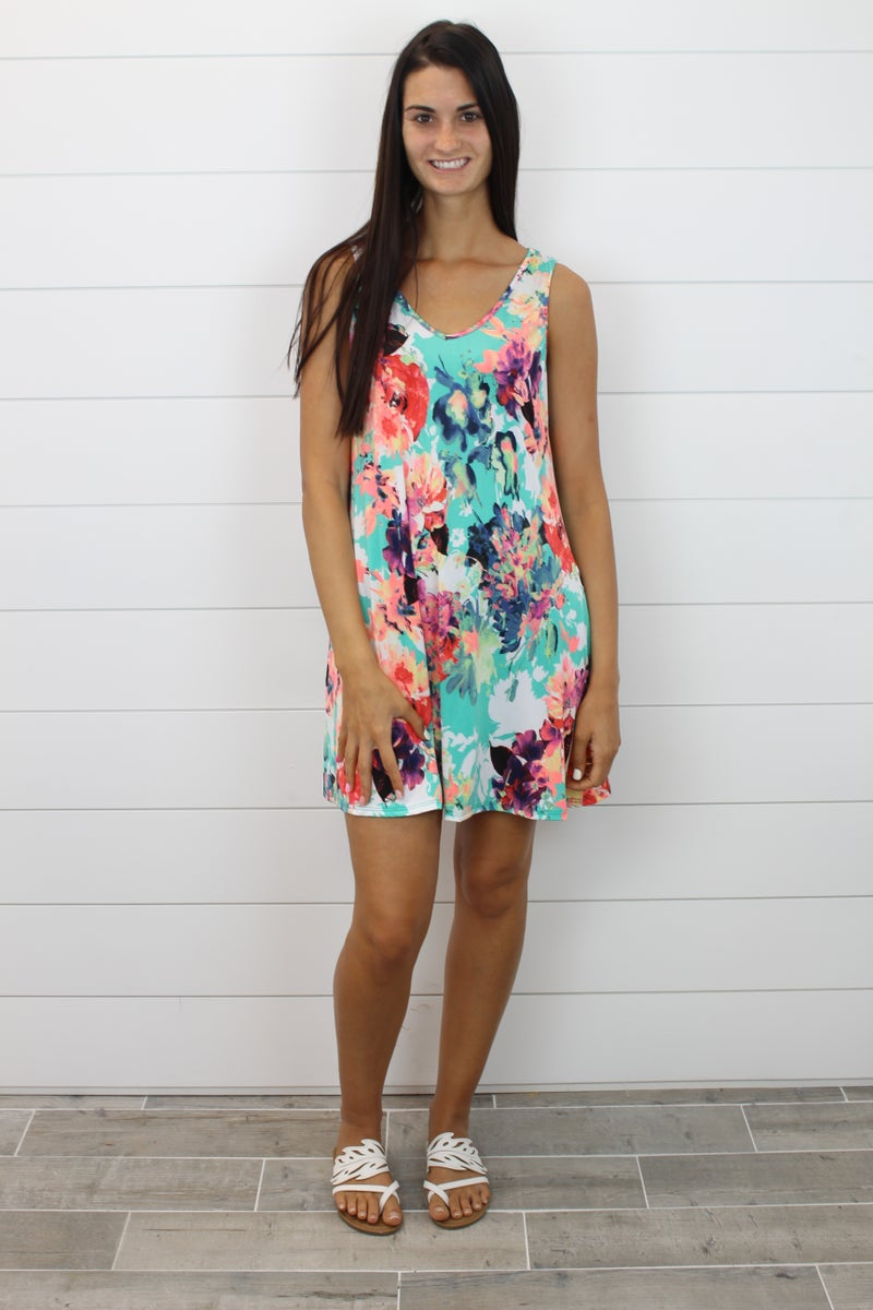 You Give Me That Feeling THE PRINT Dress