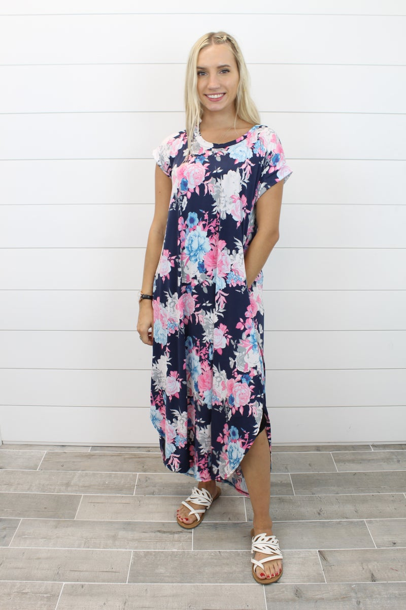 For The Love Of Floral Maxi Dress